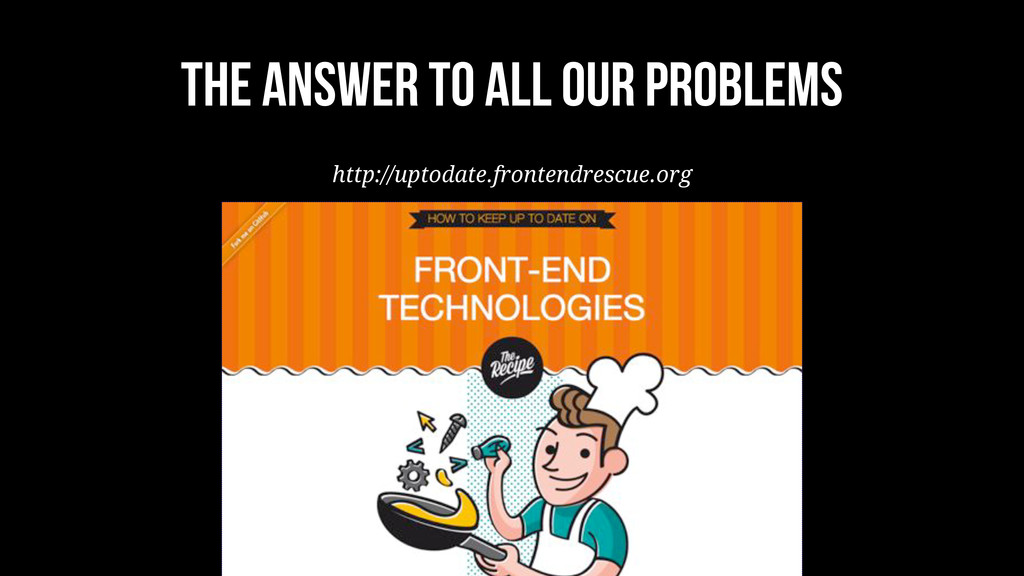 The Answer to all OUR problems http://uptodate....