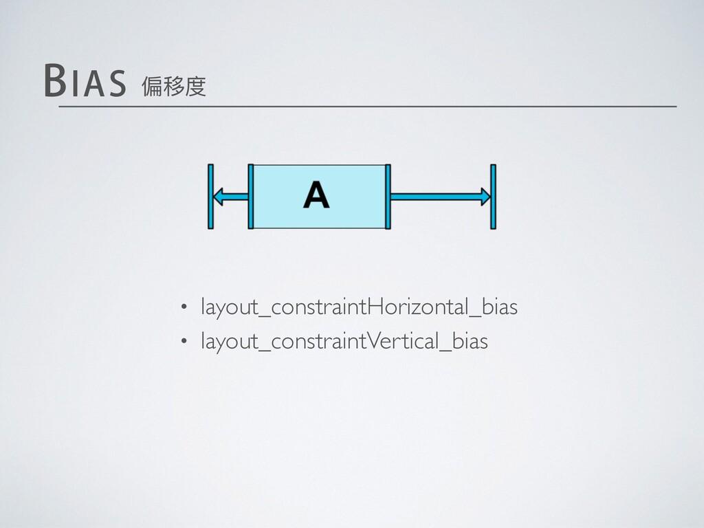 • layout_constraintHorizontal_bias • layout_con...