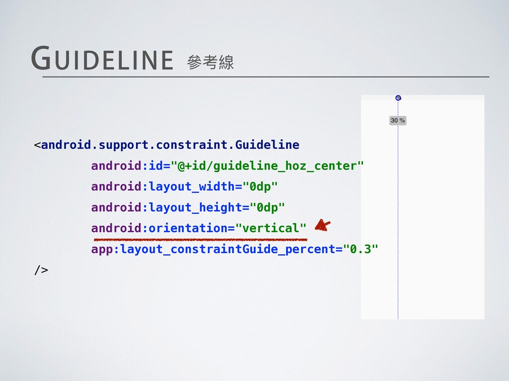 <android.support.constraint.Guideline android:i...