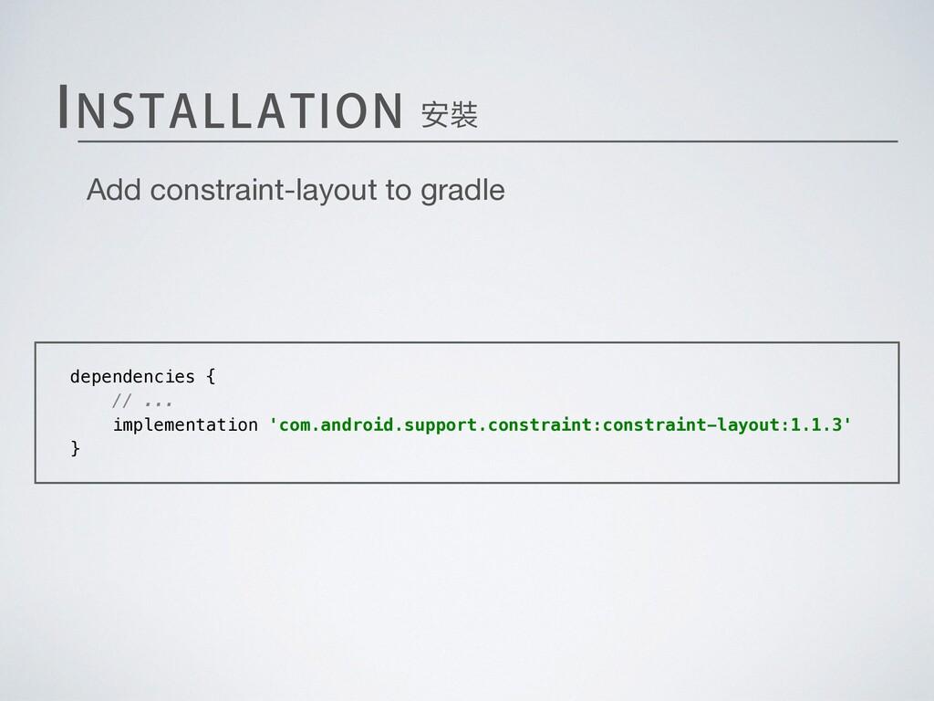 """*/45""""--""""5*0/ dependencies { // ... implementati..."""