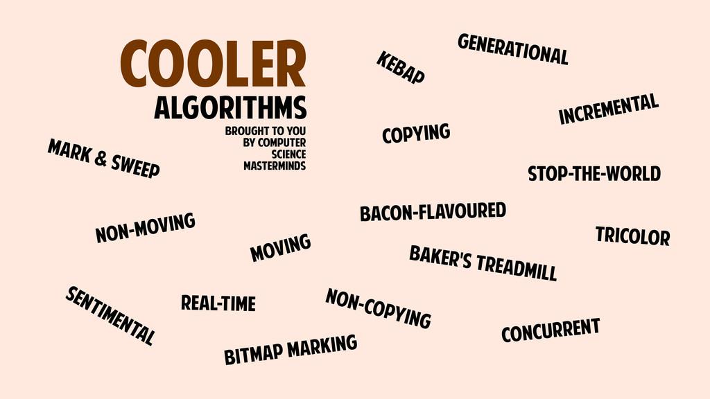 COOLER ALGORITHMS GENERATIONAL BAKER'S TREADMIL...