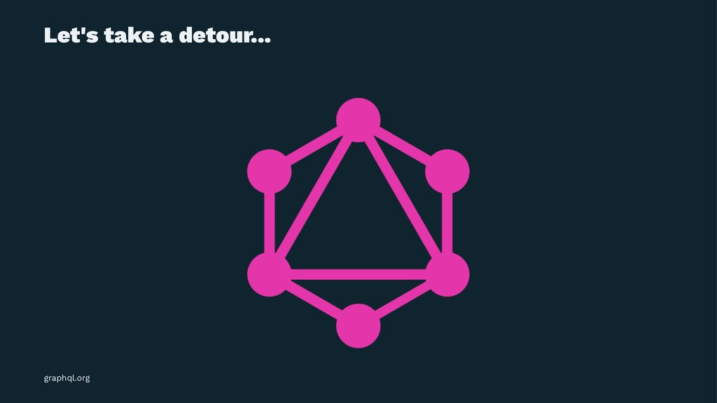 Let's take a detour... graphql.org