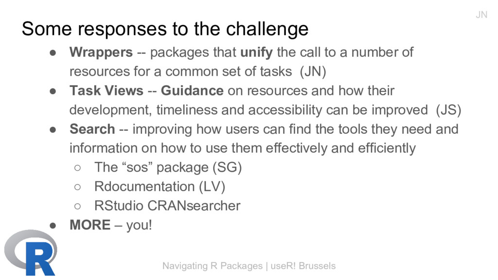 Navigating R Packages | useR! Brussels Some res...