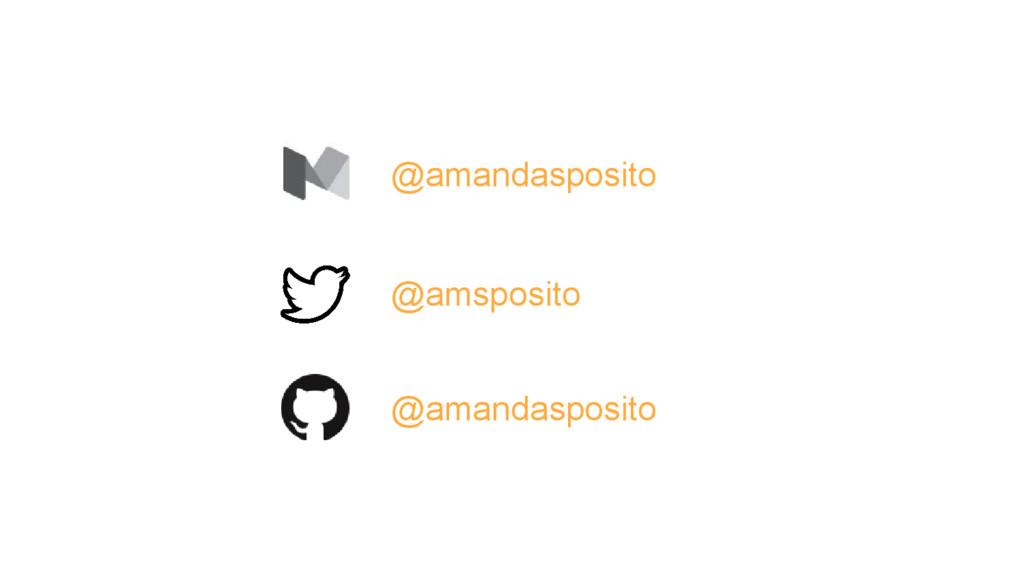 @amandasposito @amsposito @amandasposito