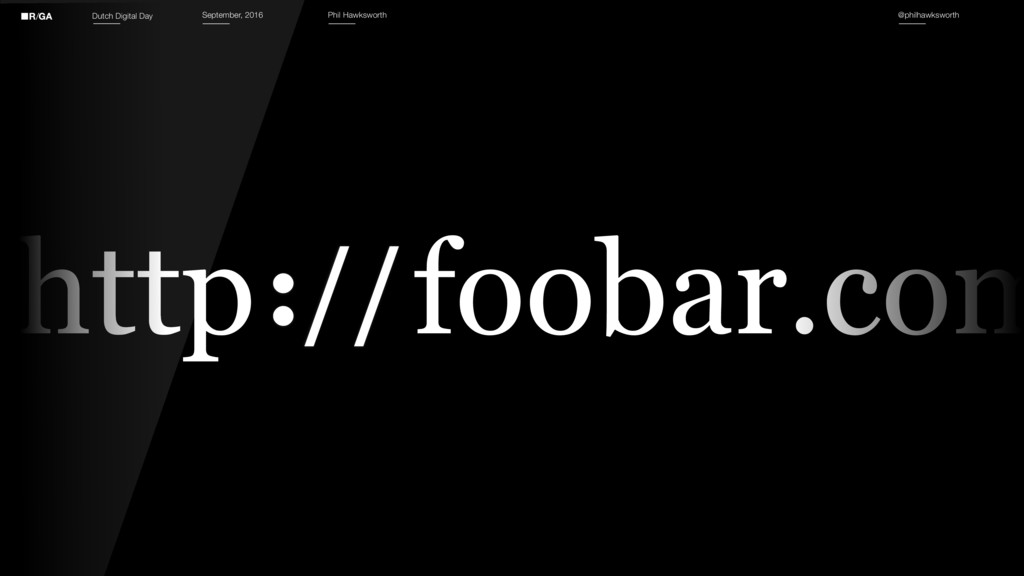 http foobar.com http :// Dutch Digital Day Sept...