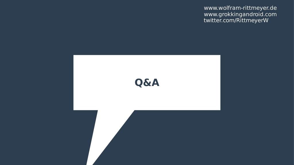 Q&A www.wolfram-rittmeyer.de twitter.com/Rittme...