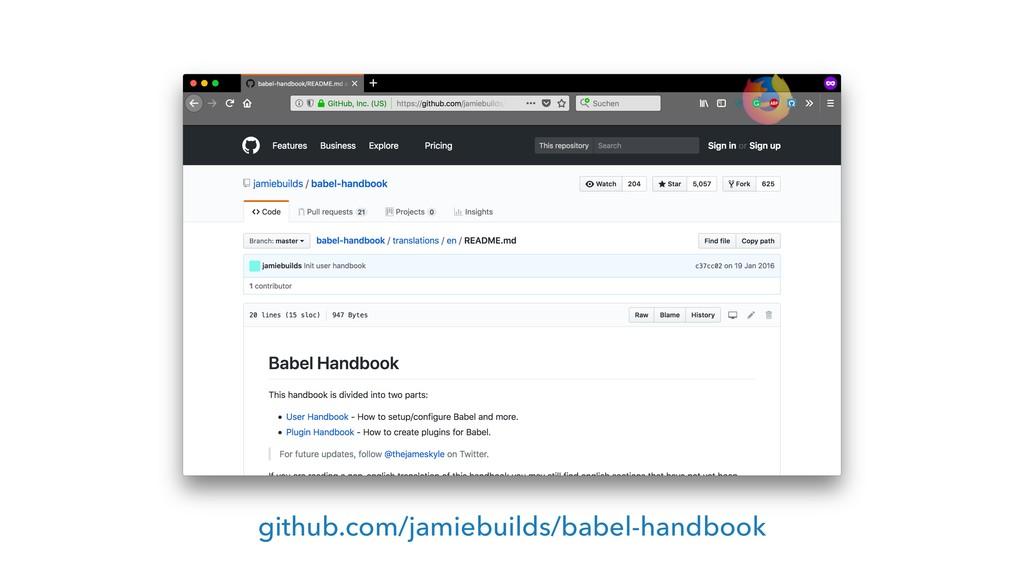 github.com/jamiebuilds/babel-handbook