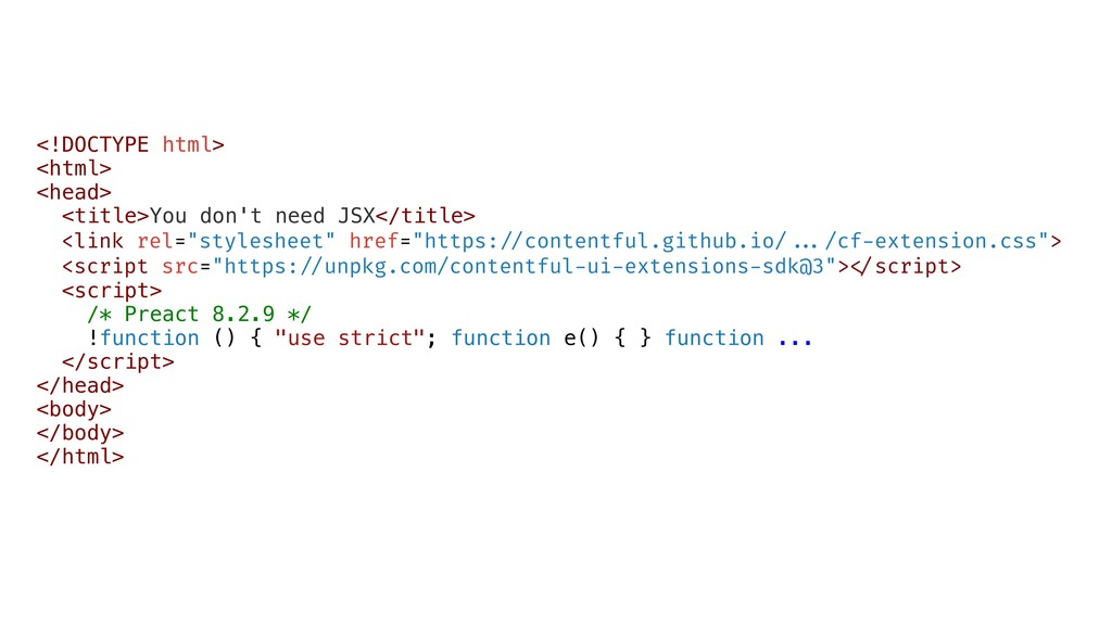 <!DOCTYPE html> <html> <head> <title>You don't ...