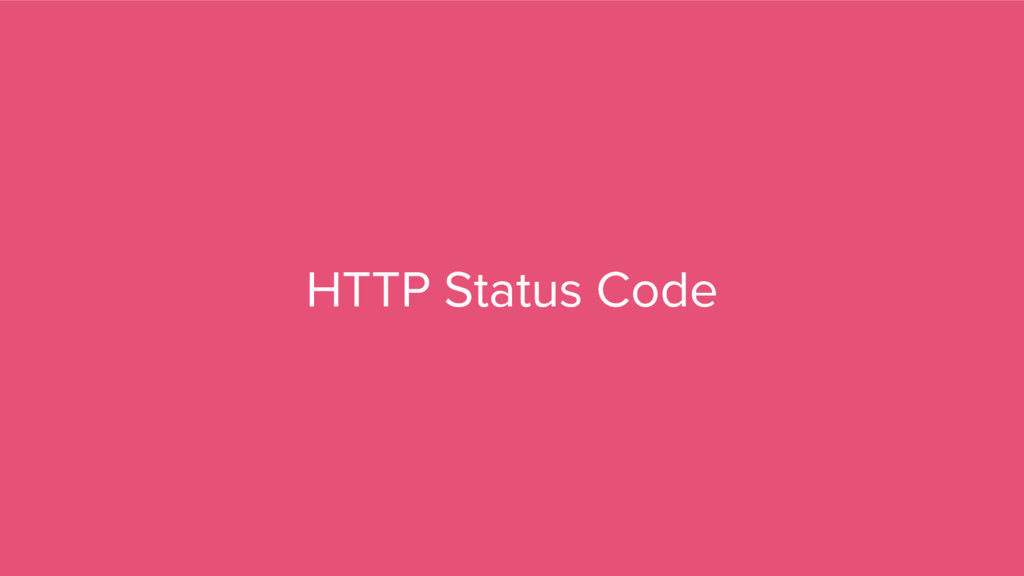 HTTP Status Code