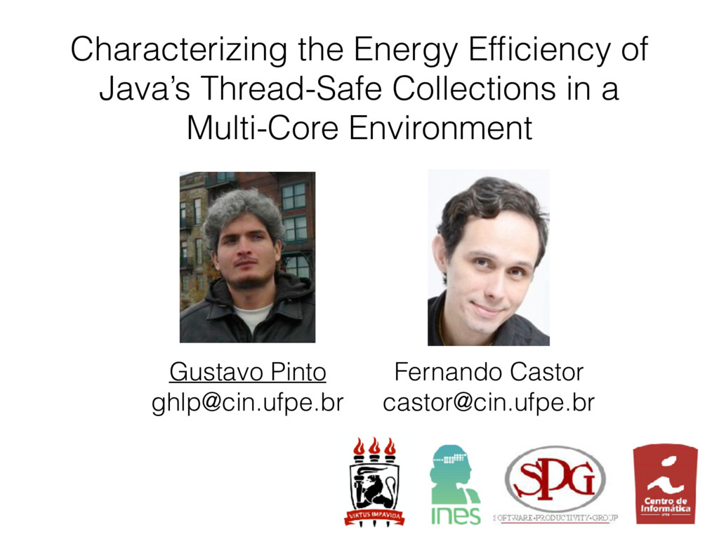 Characterizing the Energy Efficiency of Java's T...