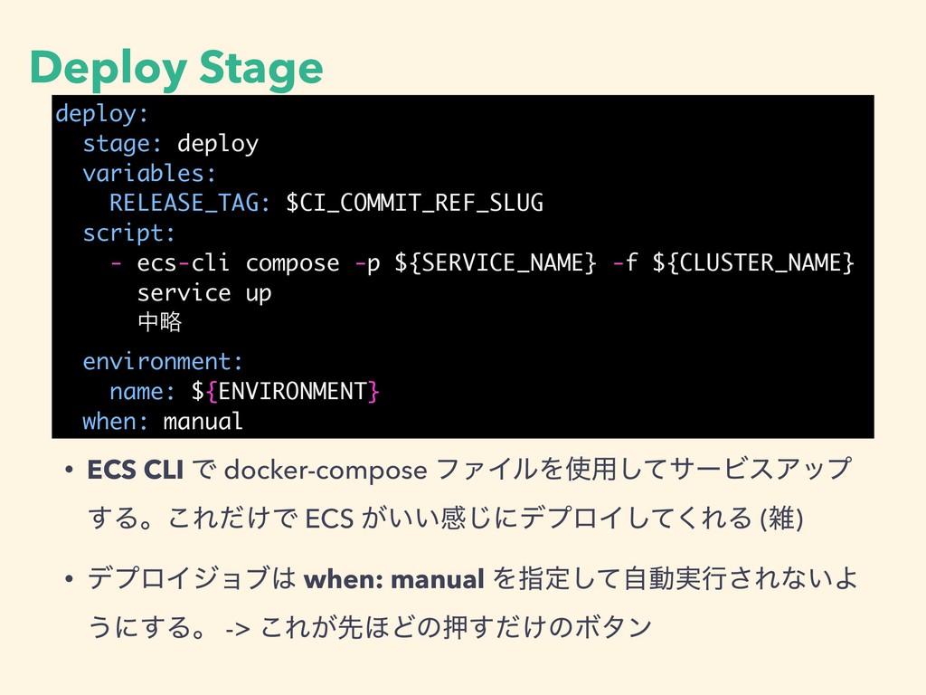 Deploy Stage deploy: stage: deploy variables: R...