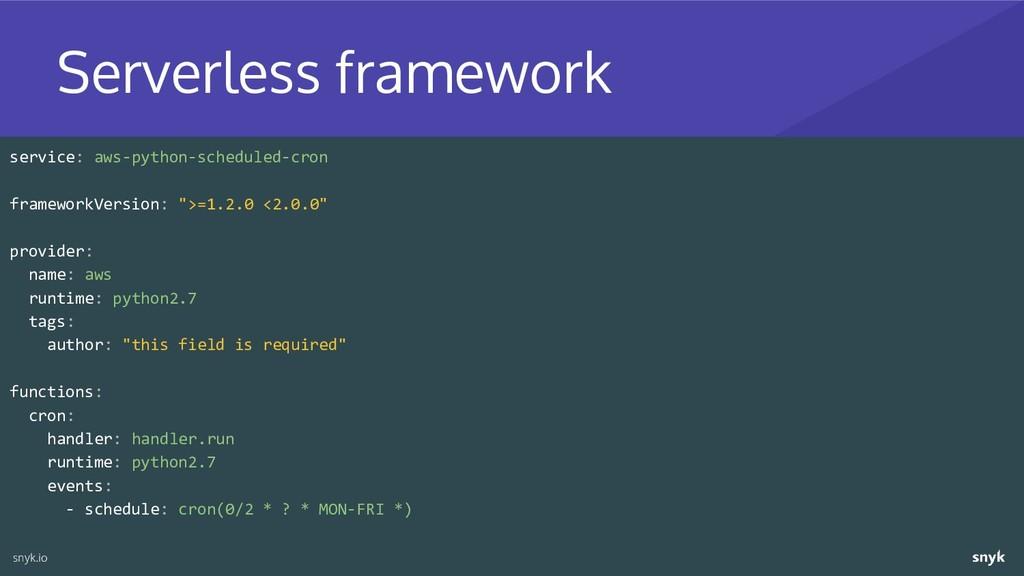 service: aws-python-scheduled-cron frameworkVer...