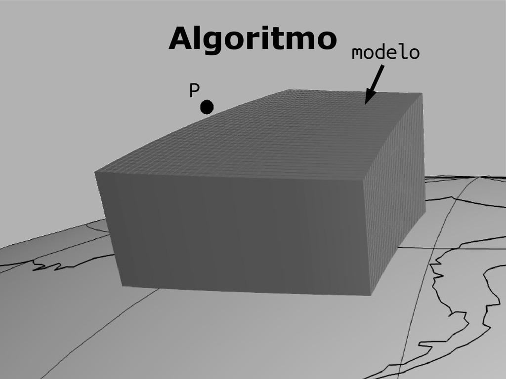 Algoritmo P modelo