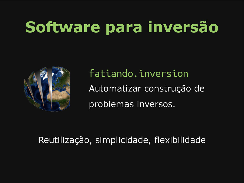 Software para inversão fatiando.inversion Autom...