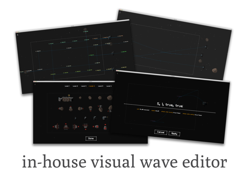 in-house visual wave editor