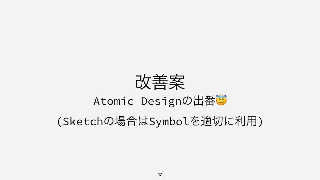 վળҊ Atomic Designͷग़൪ (Sketchͷ߹SymbolΛదʹར༻) ...