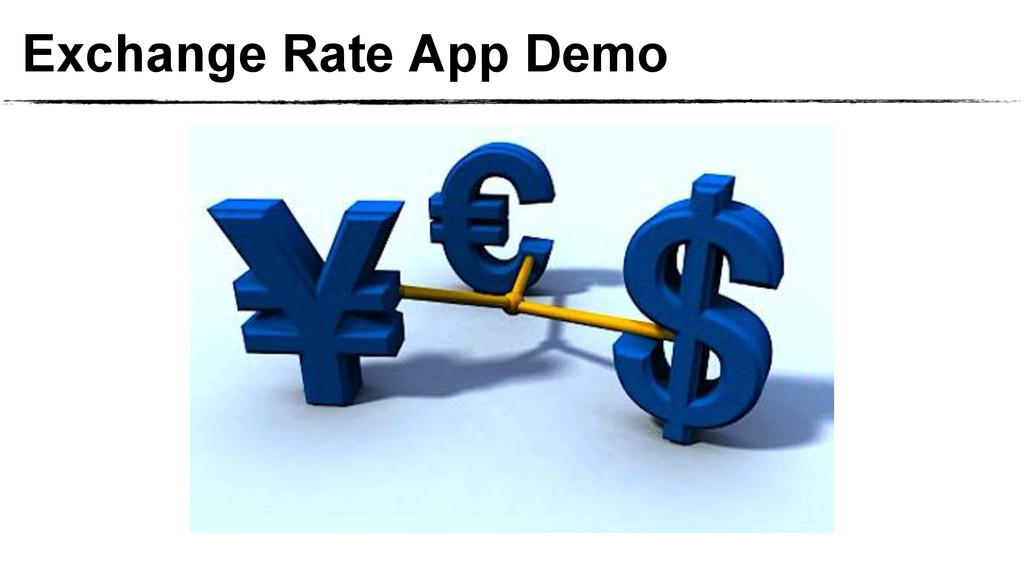 Exchange Rate App Demo