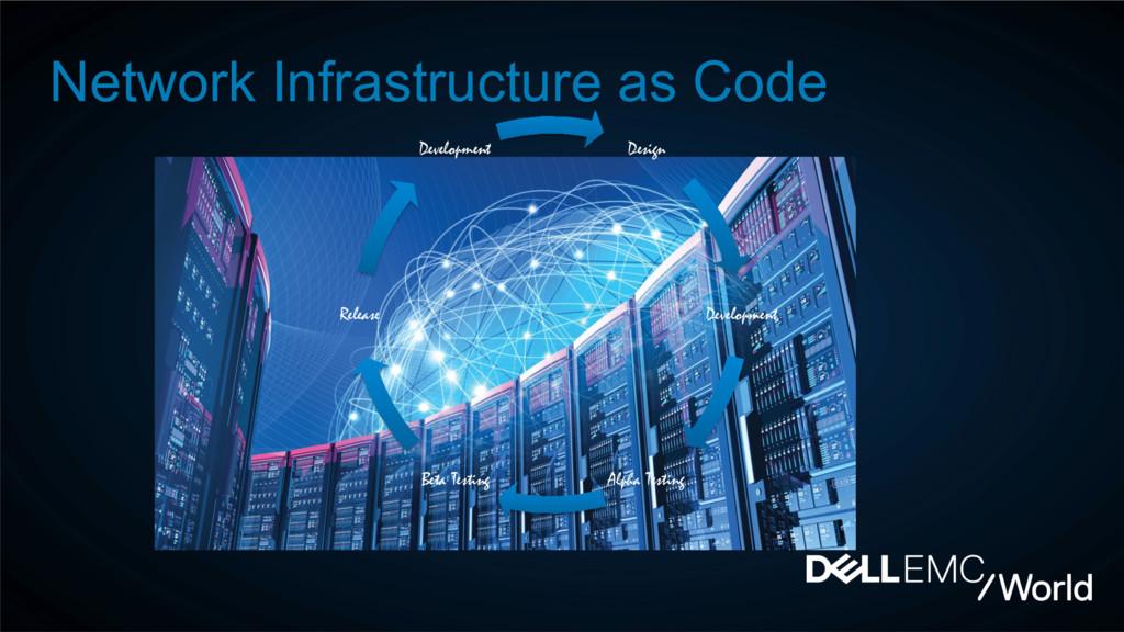 Network Infrastructure as Code Design Developme...
