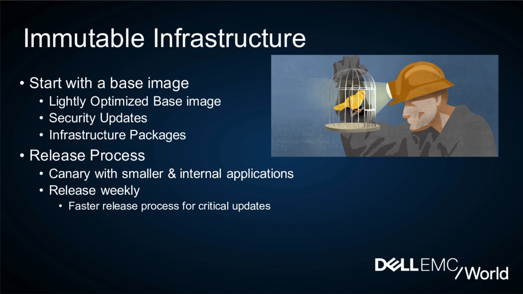 Immutable Infrastructure • Start with a base im...
