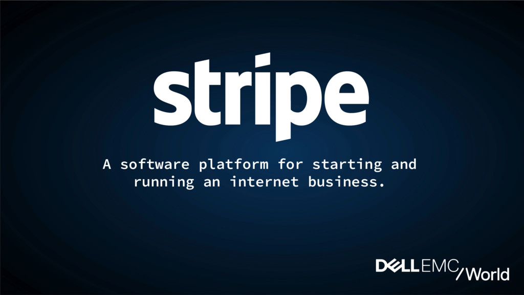 A software platform for starting and running an...