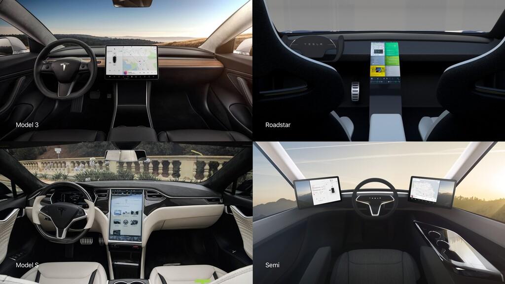 Semi Roadstar Model S Model 3