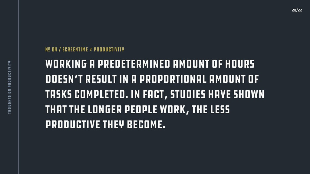 Working a predetermined amount of hours doesn't...