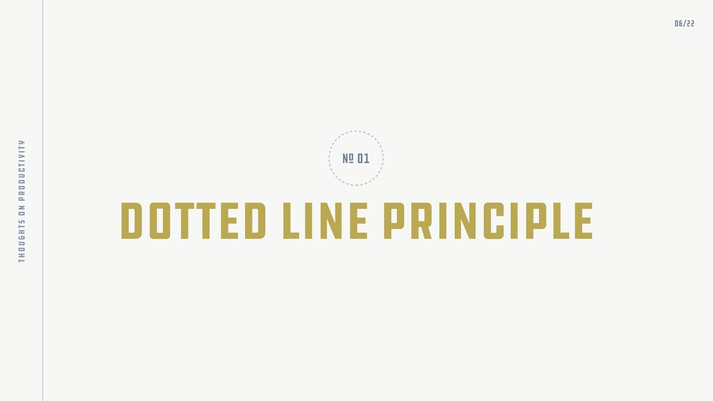 dotted line principle nO 01 06/22 thoughts on p...