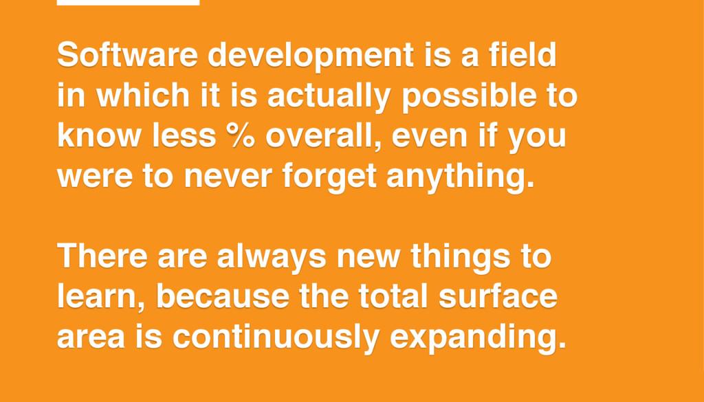 ©2015 T7 Software development is a field in whi...