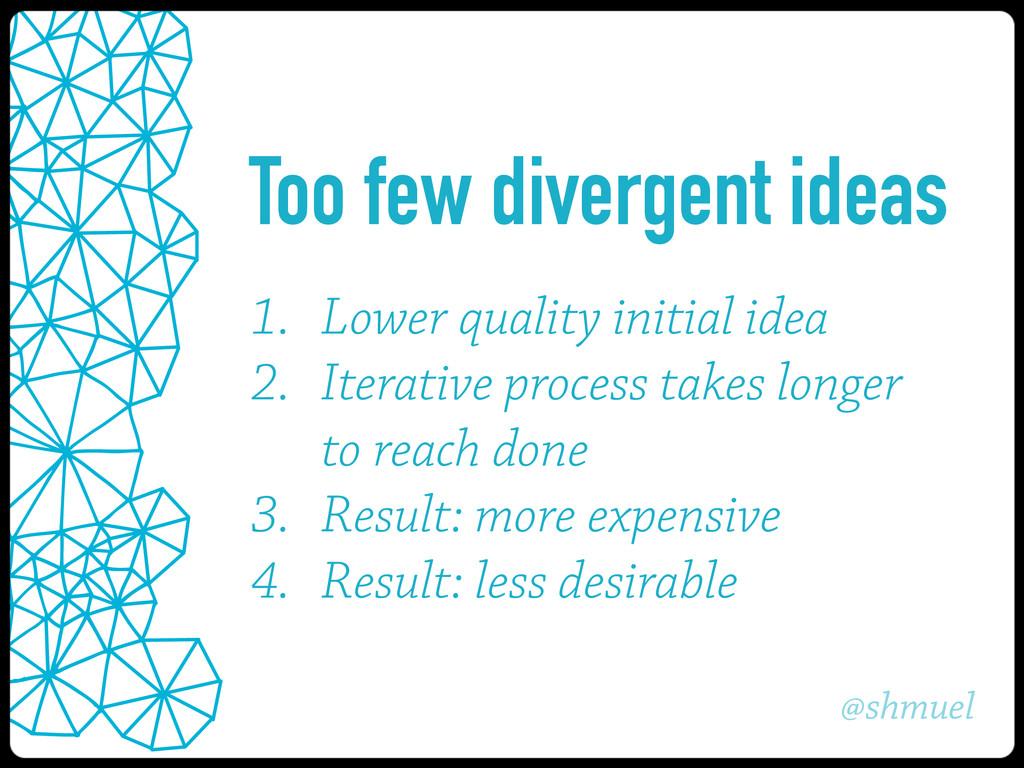 @shmuel 1. Lower quality initial idea 2. Iterat...