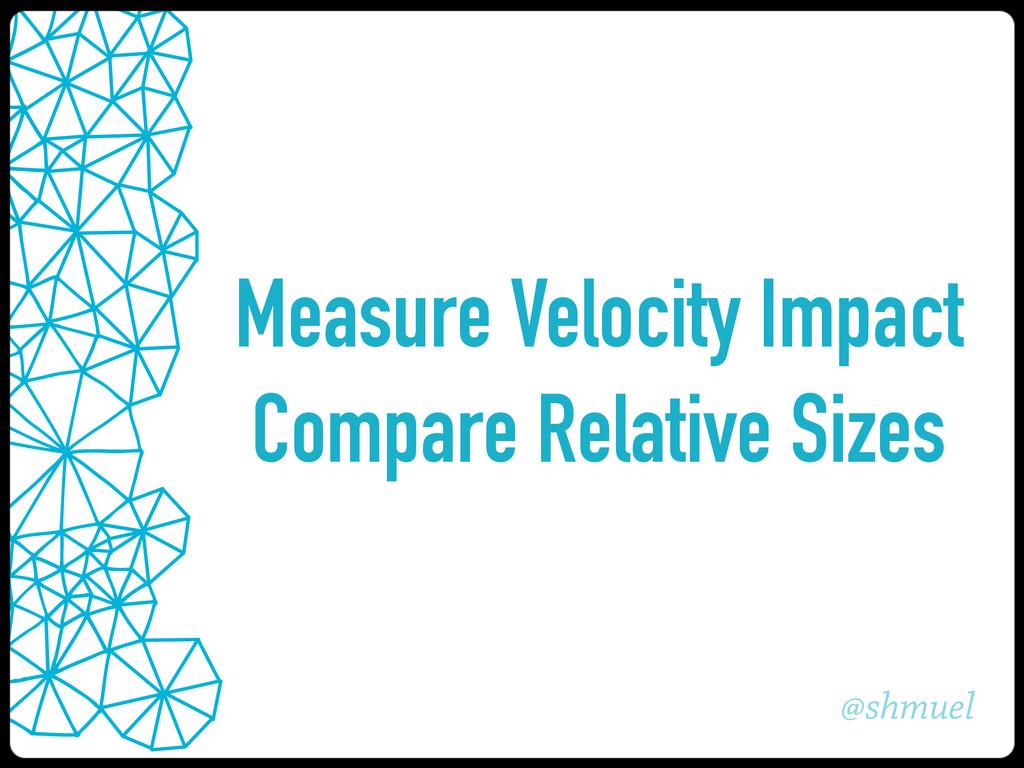 @shmuel Measure Velocity Impact Compare Relativ...