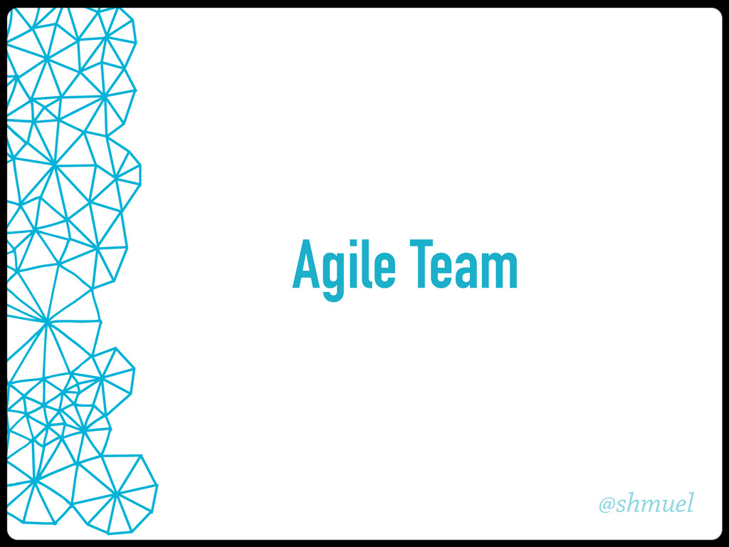 @shmuel Agile Team