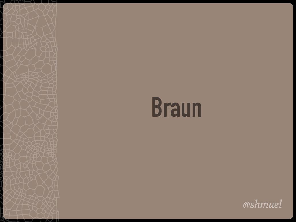 @shmuel Braun