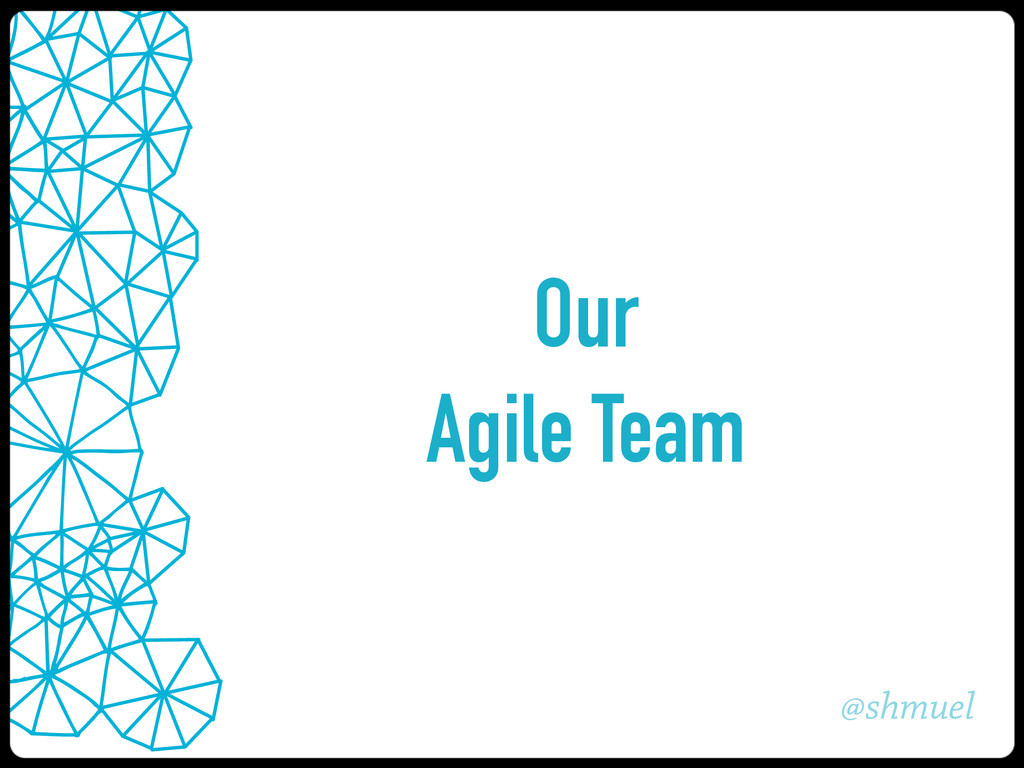 @shmuel Our Agile Team
