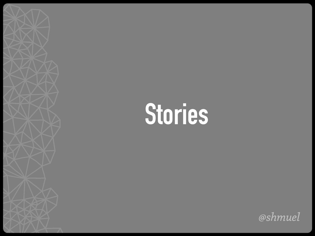 @shmuel Stories