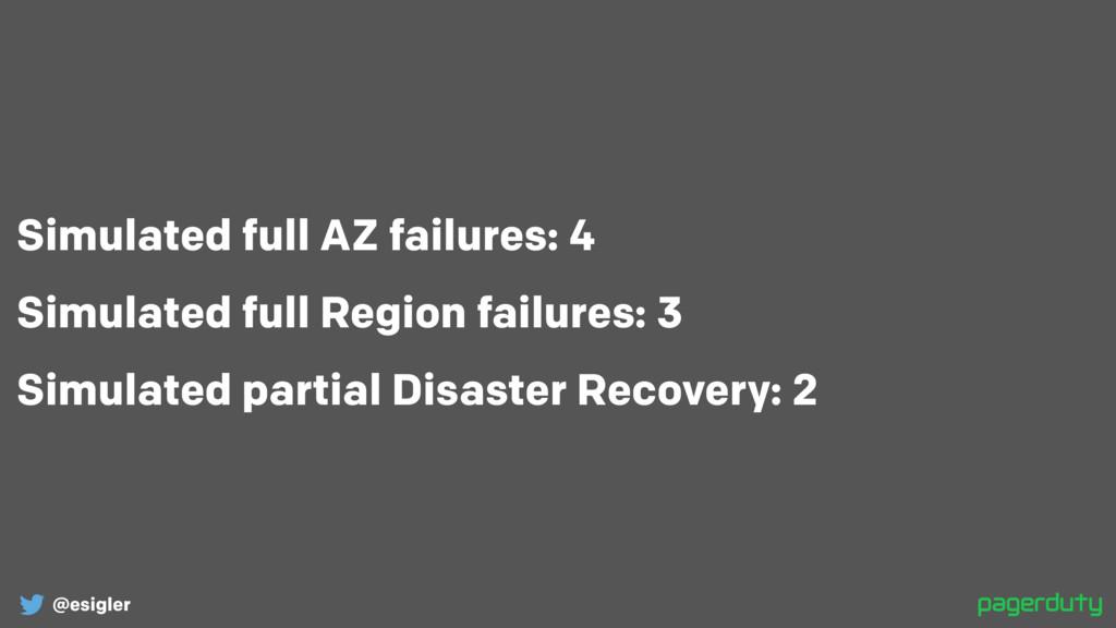 @esigler Simulated full AZ failures: 4 Simulate...