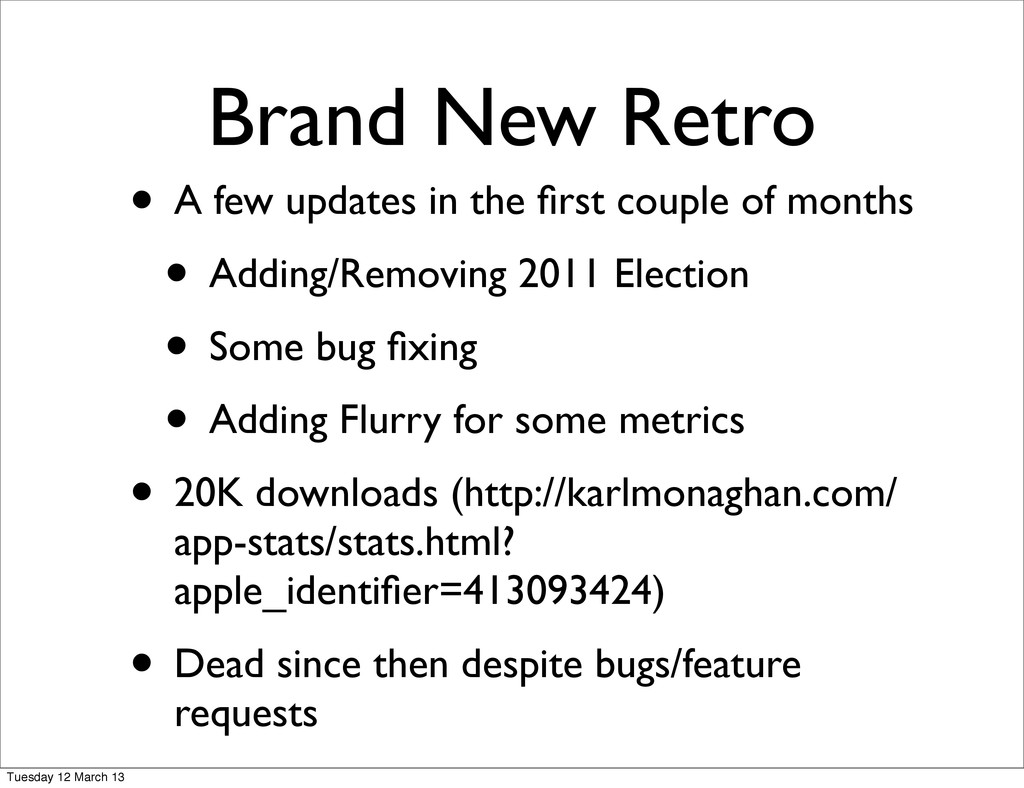 Brand New Retro • A few updates in the first cou...