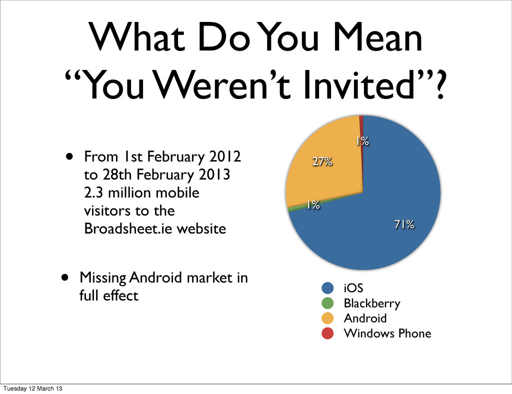"What Do You Mean ""You Weren't Invited""? • From ..."