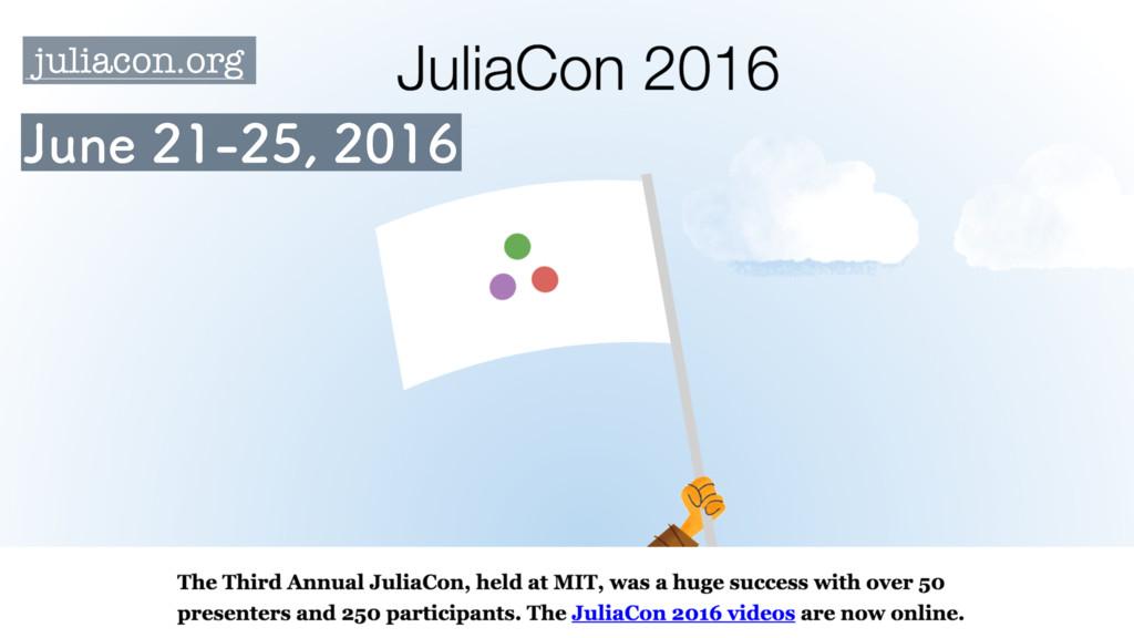 juliacon.org +VOF