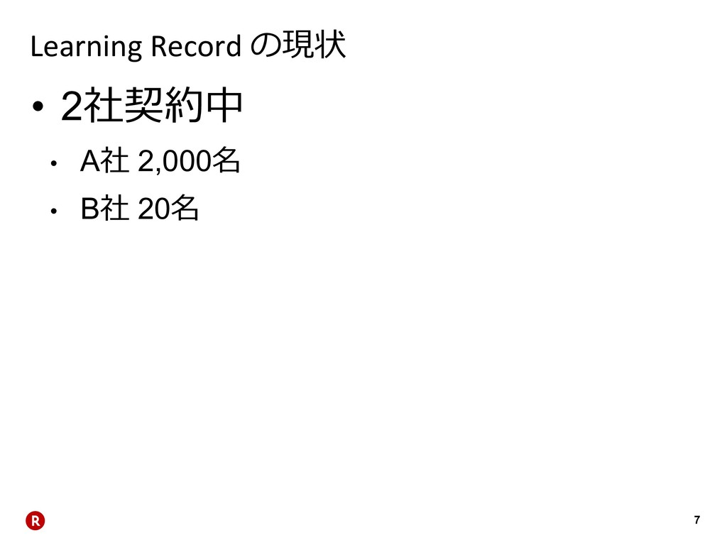 7 Learning Record  • 2 • A 2,000 • B ...