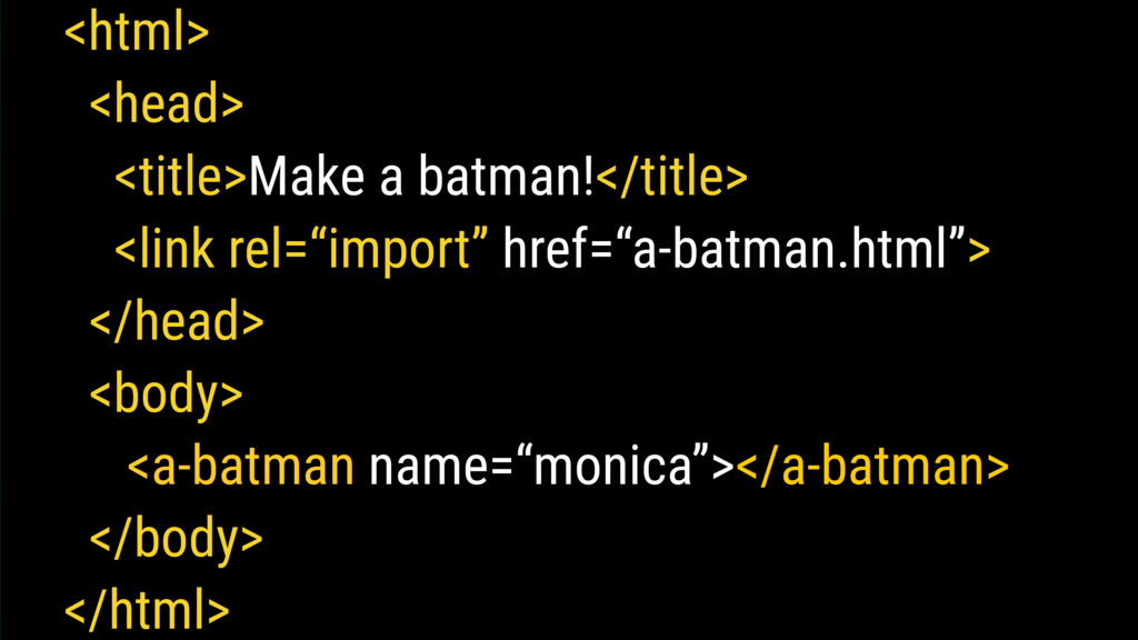 <html> <head> <title>Make a batman!</title> <li...