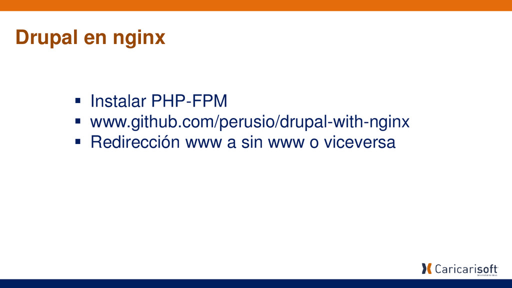  Instalar PHP-FPM  www.github.com/perusio/dru...