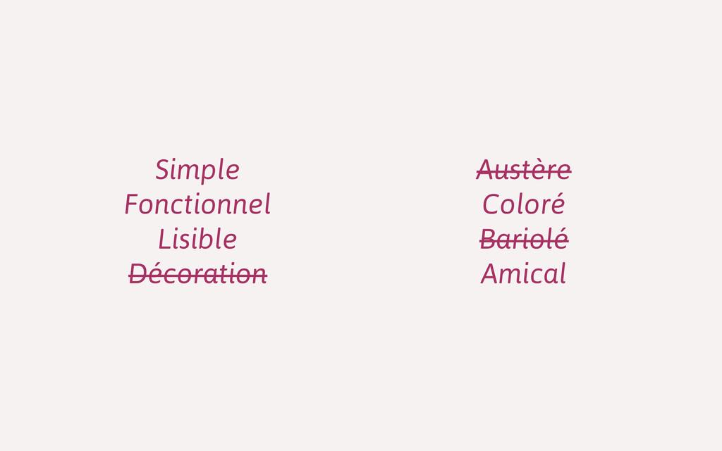 Simple Fonctionnel Lisible Décoration Austère C...