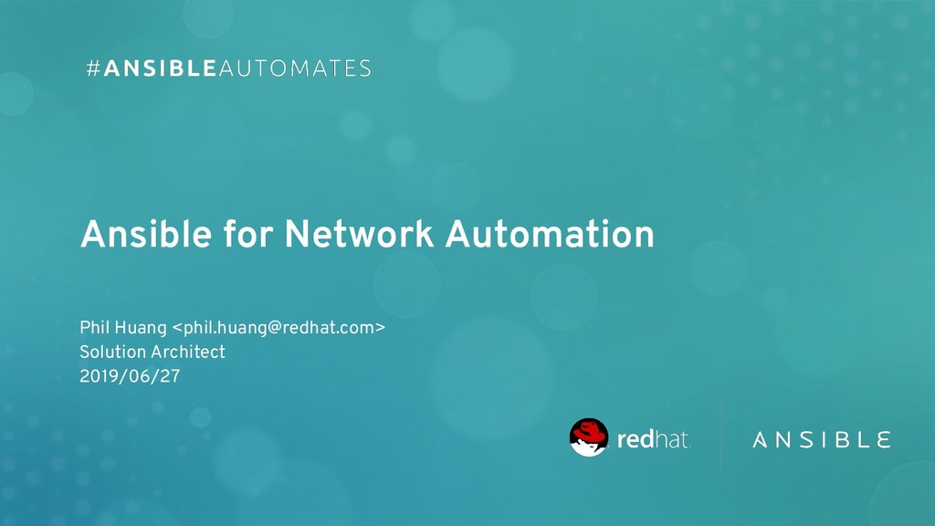 Phil Huang <phil.huang@redhat.com> Solution Arc...