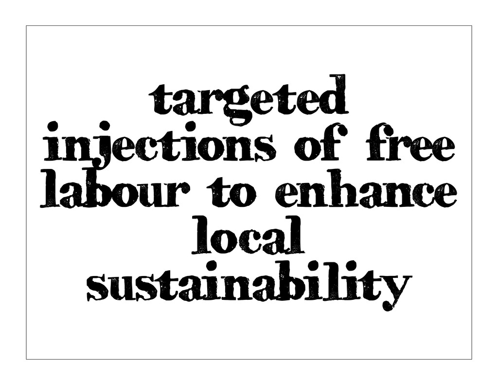 targeted injections of free labour to enhance l...