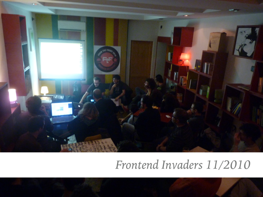 Frontend Invaders 11/2010