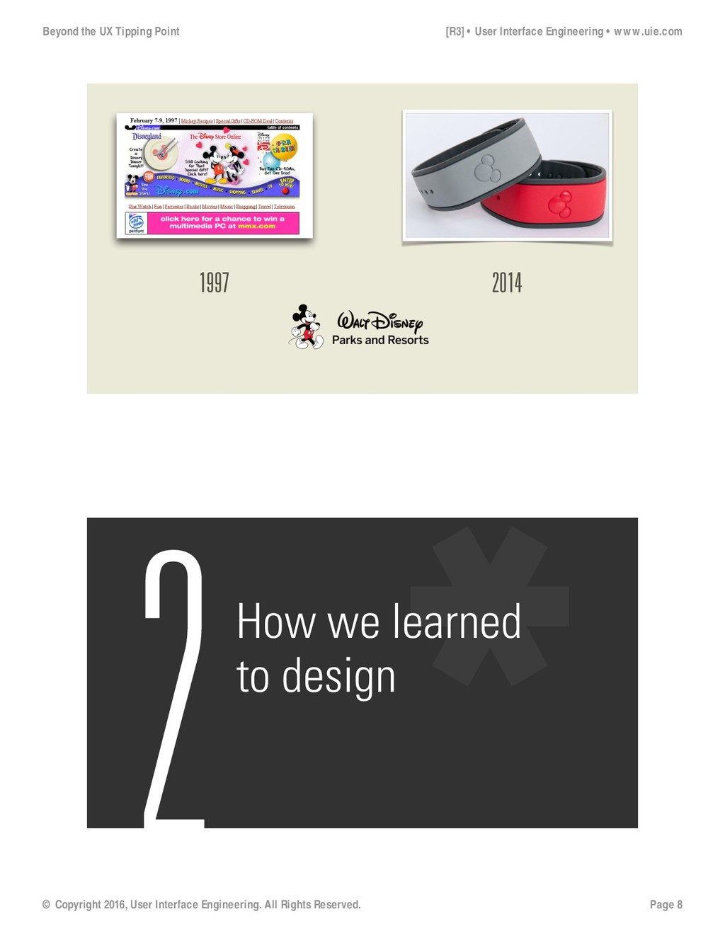 1997 2014 2How we learned to design Beyond the ...