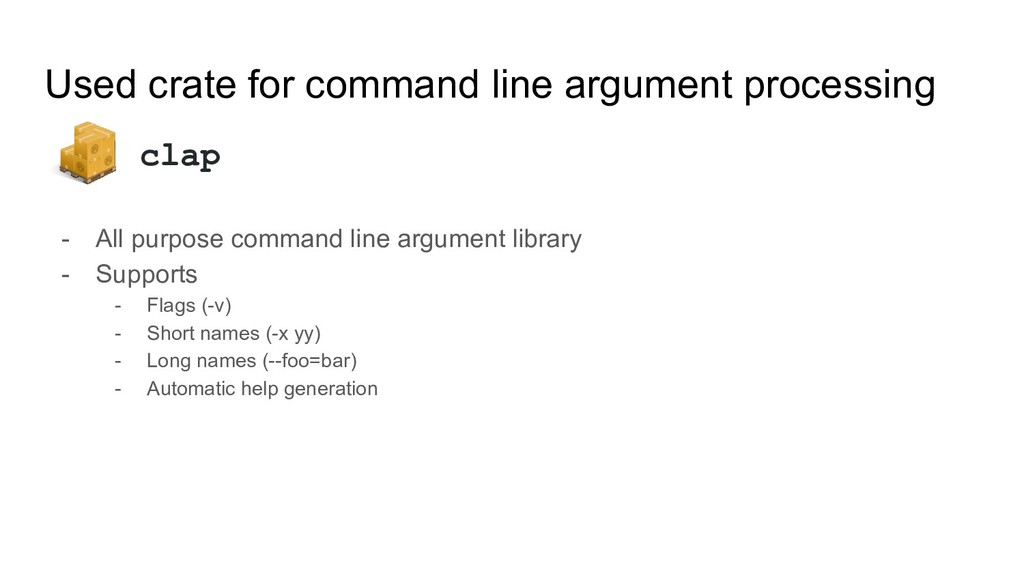 - All purpose command line argument library - S...
