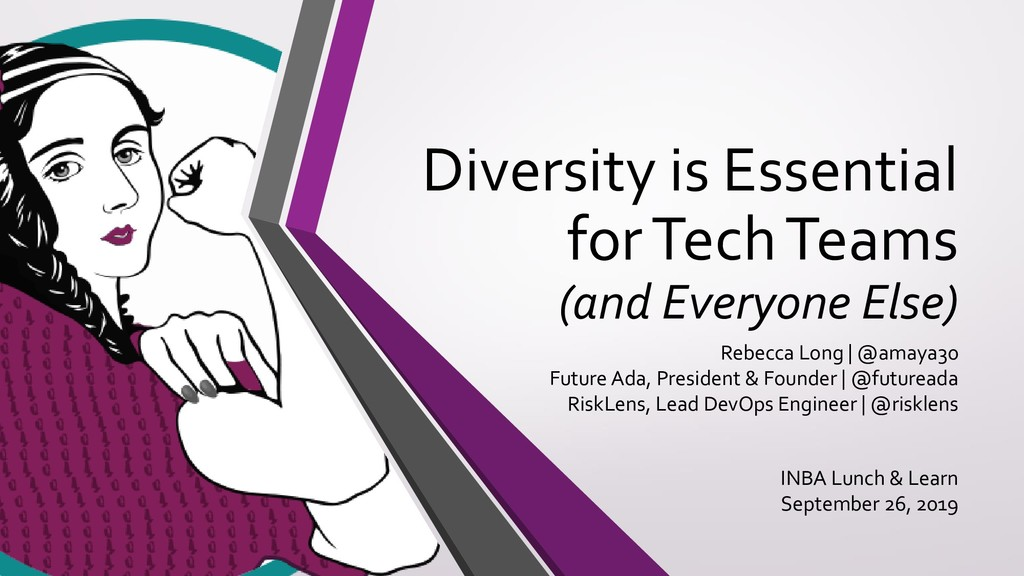 Diversity is Essential for Tech Teams (and Ever...