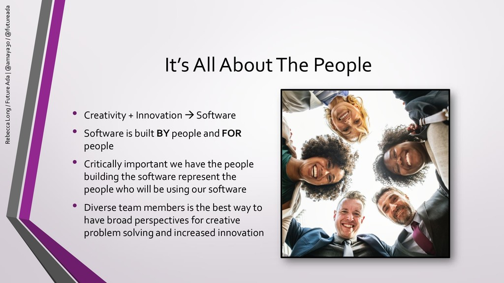 It's All About The People • Creativity + Innova...