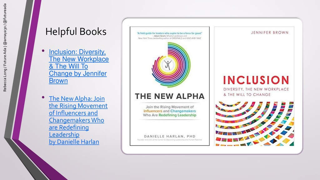 Helpful Books • Inclusion: Diversity, The New W...